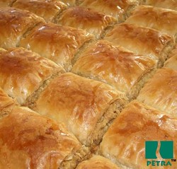 Special baklava with walnuts